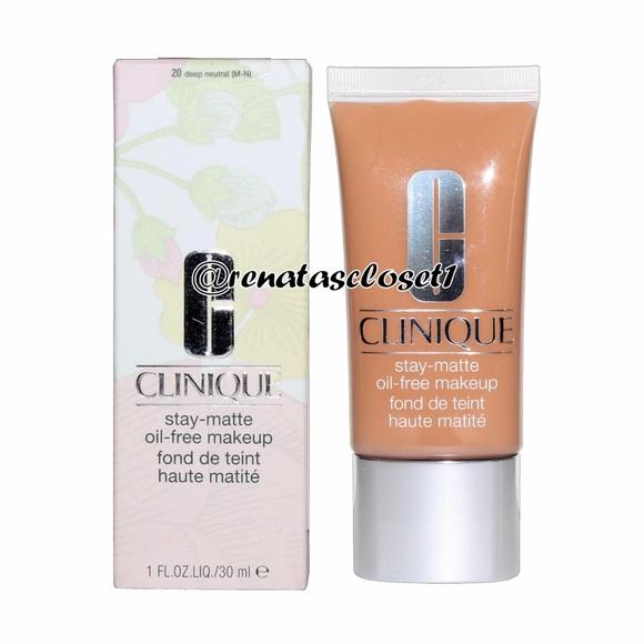 Clinique Makeup Stay Matte Oilfree In 20 Nib Poshmark